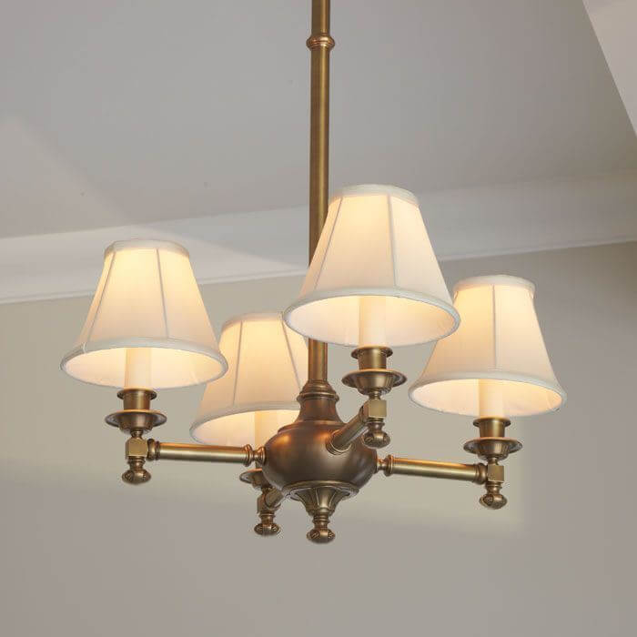 Morris™ Four Light Chandelier with electric candles