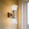 Oak Park™ Two Light Linear Lobby Sconce with 2-1/4 in. shade holders