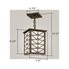 Sunrise Center Lantern™ 7 in. Decorative Overlay Pendant Light