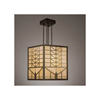 Sunrise Lantern™ 21 in. Prairie School Crafstman Style Pendant