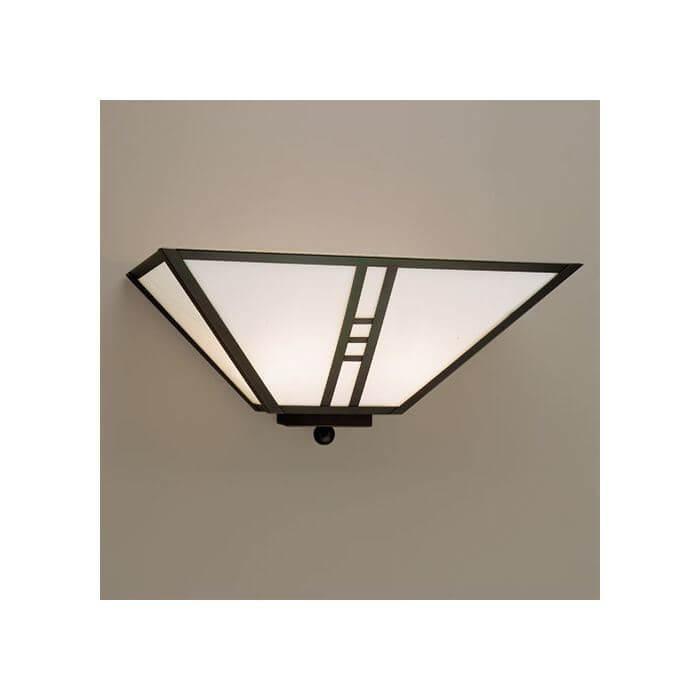 Lantern 15 Wide Flush Wall Sconce Brass Light Gallery Milwaukee