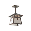 Stamford Lantern™ 9 in. Wide Solid Stem Exterior Pendant Light