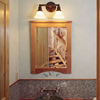 Carlton™Traditional Sconce with 2-1/4 in. shade holders