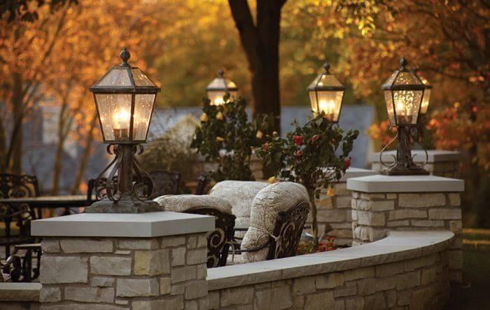 Outdoor Tudor Lanterns For Home Exterior