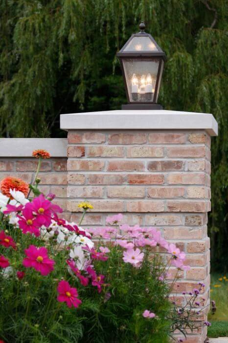 Large outdoor lanterns for home landscape lighting