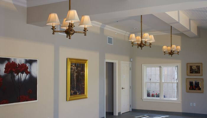 LEED certified chandeliers