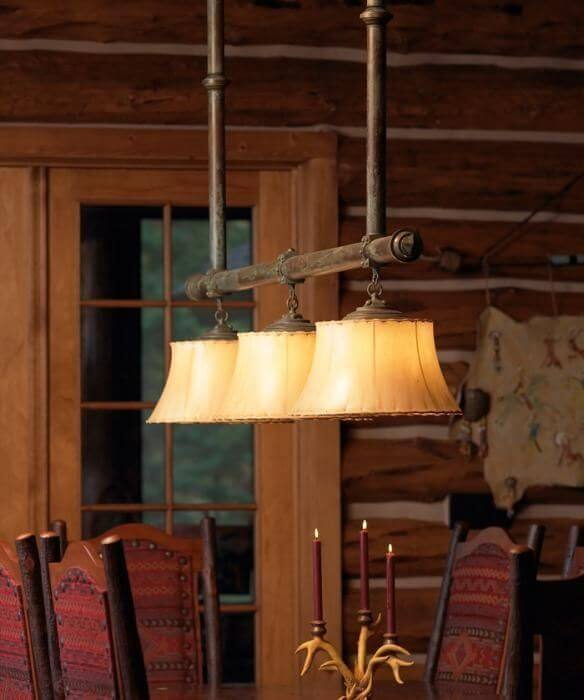 rustic style light fixtures