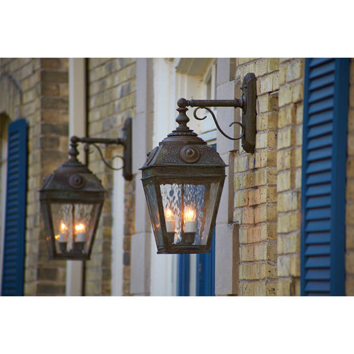 Portfolio French Country Style Outdoor Lighting Brass