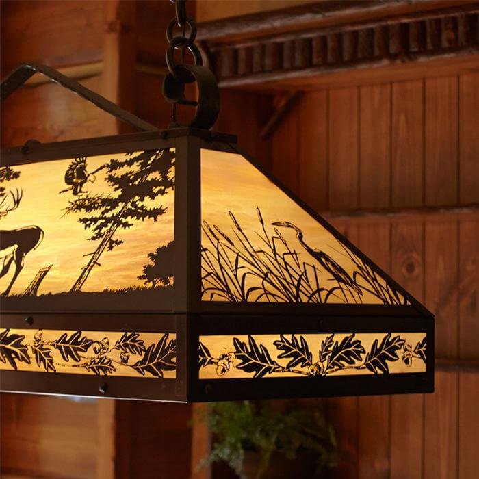 Portfolio Northwoods Lodge Retreat Lighting Br Light