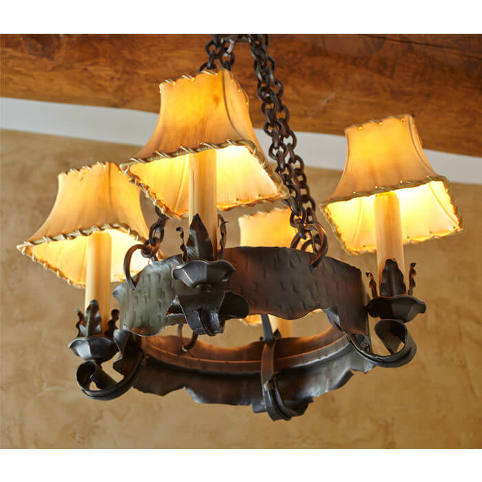 Northwoods Lodge Retreat Lighting