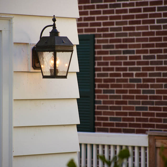 Lighting design portfolios brass light gallery milwaukee - Georgian style exterior lighting ...