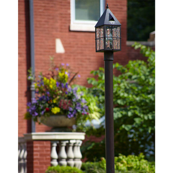 Portfolio: Historic North Shore Chicago Normandy Tudor Outdoor Lighting