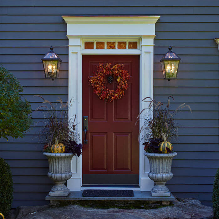 Portfolio Outdoor Lights For An East Coast Colonial Br