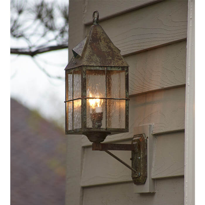 Custom Exterior Lantern Lighting