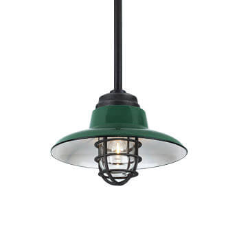 Vintage Enamel Pendant Lighting